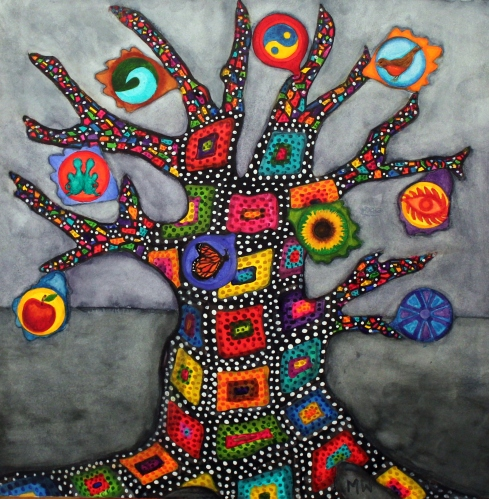 #41 - THE GRANNY QUILT TREE