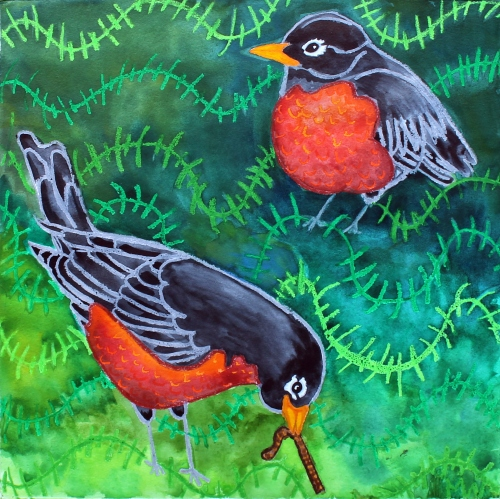 #89 - Hope is the thing with feathers -ROBIN (1)
