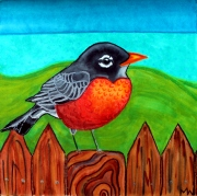 #89 - Hope is the thing with feathers -ROBIN (2)