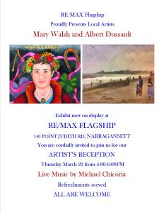 March 2013 Art Reception