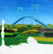 #161- VIEW OF NEWPORT BRIDGE FROM JAMESTOWN (1)