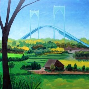 #163 - NEWPORT BRIDGE GETTING CLOSER (1)