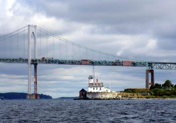 #163 - NEWPORT BRIDGE GETTING CLOSER (4)