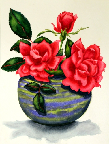 #229- RED RED ROSES (1)