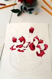 #229- RED RED ROSES (3)