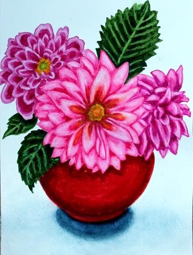 #232 - pink dahlias (1)
