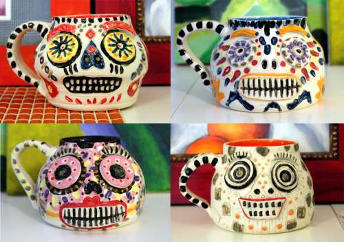 #289- Day of the Dead mug (1)