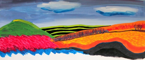 #320 - Half a landscape (1)