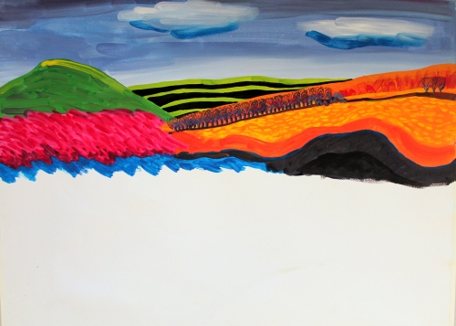 #320 - Half a landscape (2)