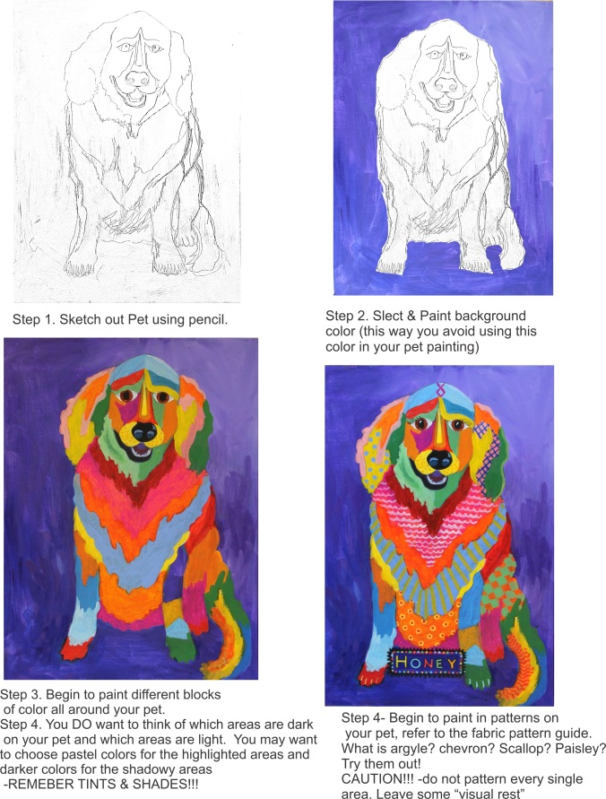 Pet Painting Tutorial (1)