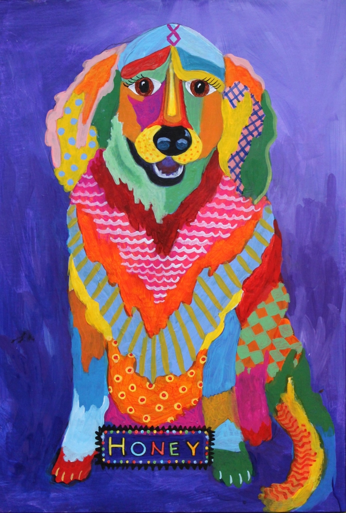 pet painting tutorial