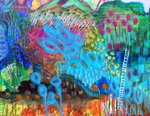 _Impressionist landscape abstract (1)