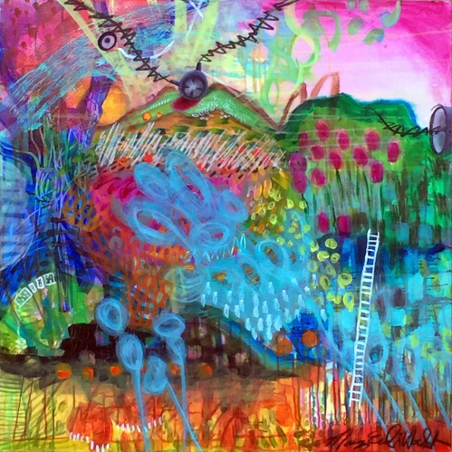 _Impressionist landscape abstract (3)