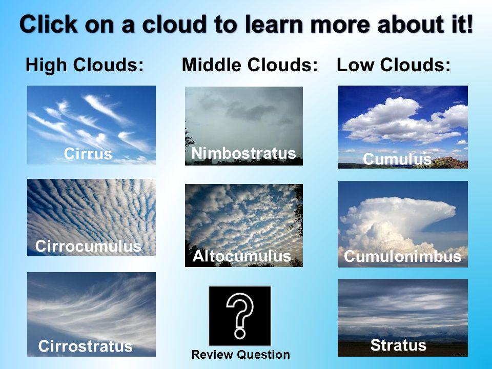 cloud kinds