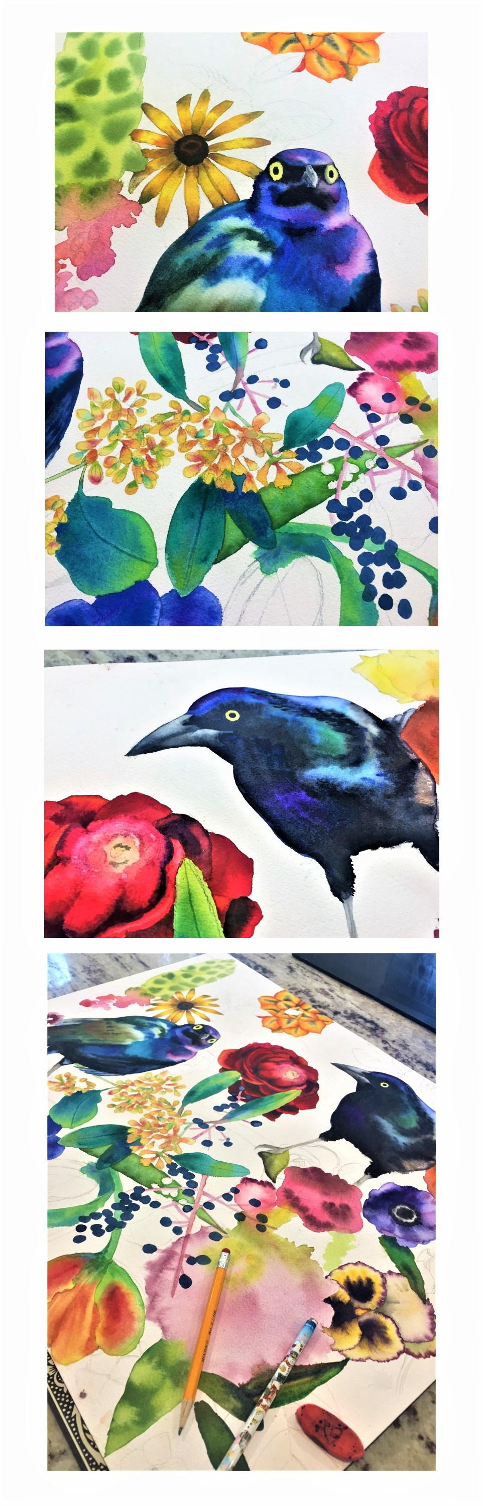 garden of Grackles 2